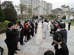 2010年3月28日 たっち&いっくん 結婚式(逗子マリーナ) 004