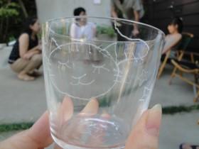 ARAHABAKI ガラスドローイング 011